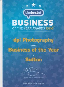 Business if the year award 2016