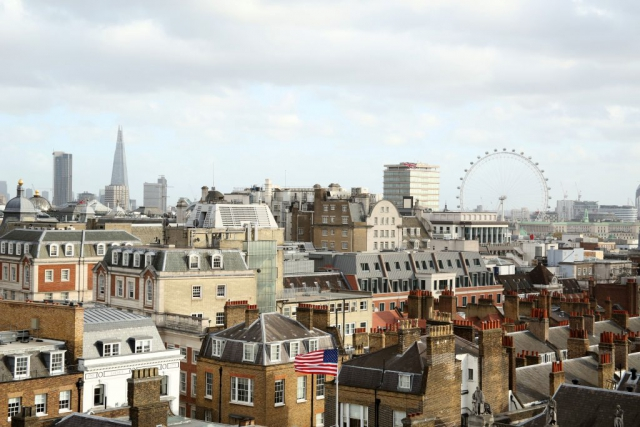 I took this shot from on top of the Multiplex site in London. By Dpi Photography.