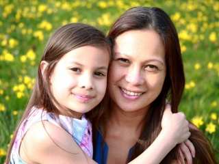 I took this shot of my wife & daughter at the park in Sutton. By Dpi Photography.