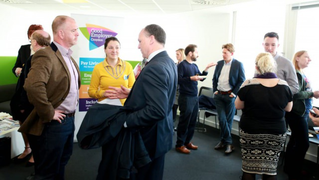This shot was taken at the Good Employer networking meeting in Croydon. By Dpi Photography.