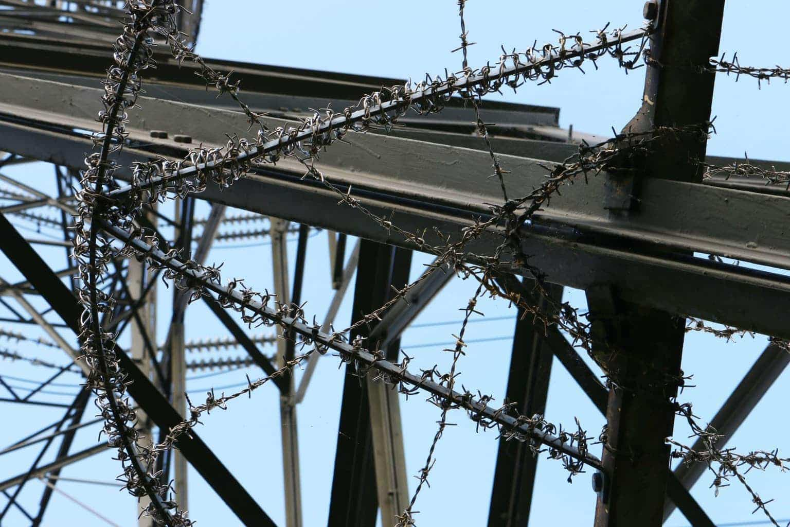 This shot is a close up of an electricity pilon taken by Dpi Photography.