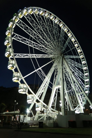 This shot was taken in Torquay TQ2 5EQ of the English Riviera wheel. By Dpi Photography.