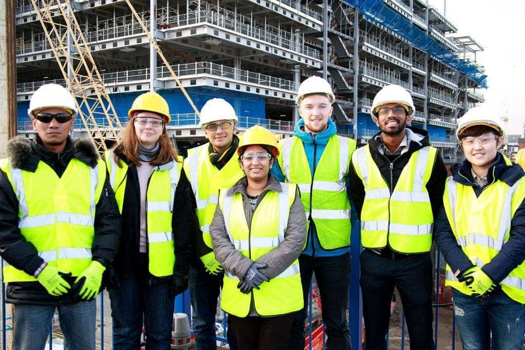 THIS IS THE TEAM PHOTO OF SITE MANAGERS OF BROOKFIELD MULTIPLEX TAKEN ON ONE OF THE DAYS WHEN I WAS TAKING CONSTRUCTION SHOTS. By Dpi Photography