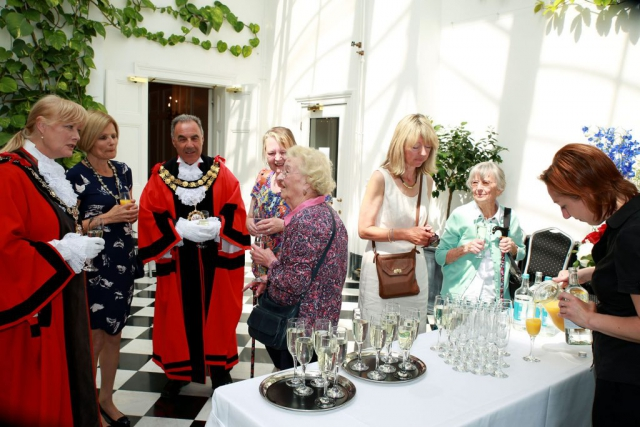 Richmond Council is marking the Queen's 90th Birthday with a Tea Party in the Gardens of York House,By Dpi Photography